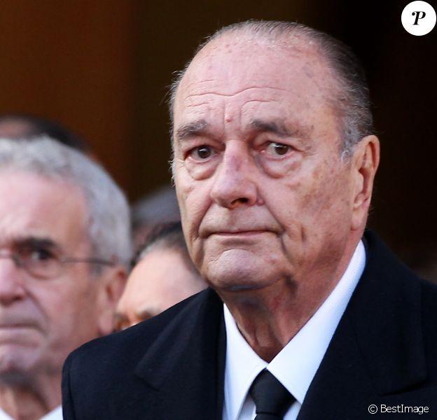 Jacques Chirac - Obèsques de Bernard Niquet, à Paris, le 15 novembre 2011