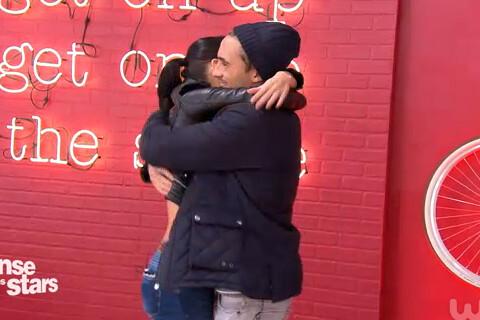 """DALS 6 - Olivier Dion et Candice Pascal se retrouvent : """"Tu m'as manqué"""""""