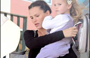 REPORTAGE PHOTOS : Jennifer Garner et sa fille Violet, trop... mignonnes !