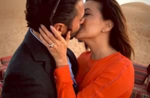 Eva Longoria, fiancée : Sa sublime bague dévoilée !