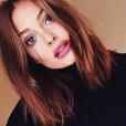 Caroline Receveur est devenue rousse / photo postée sur Instagram. Automne 2015.