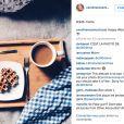 Caroline Receveur, prise en flagrant délit d'emprunt de photo Instagram le 12 décembre 2015.