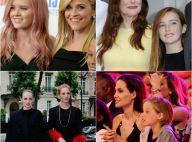 Reese Witherspoon et Ava, Uma Thurman et Maya... Mères et filles, purs sosies !