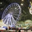 """Ambiance - Inauguration de la 3e édition de """"Jours de Fêtes"""" au Grand Palais à Paris, le 17 décembre 2015."""