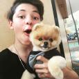 Steven Fernandez a posté une photo de lui sur Instagram au mois de septembre 2015.