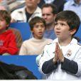 Théo Zidane à Madrid le 7 mai 2006.