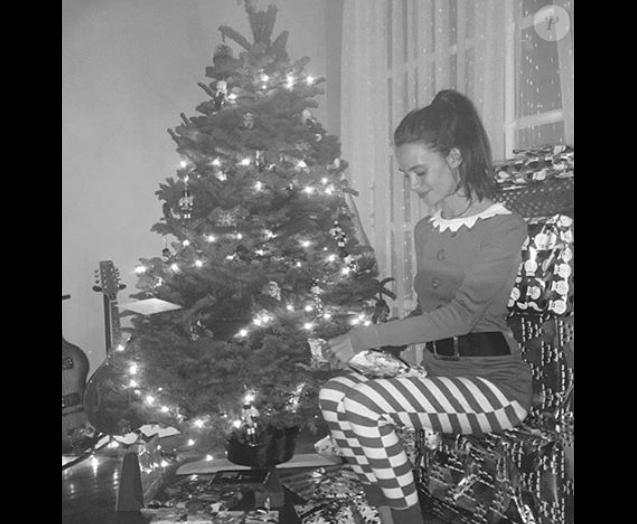 Tom Felton et sa chérie Jade Olivia fêtent Noël en amoureux / photo postée sur le compte Instagram de l'acteur le 26 décembre 2015.