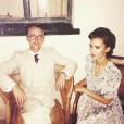 Tom Felton et sa chérie Jade Olivia / photo postée sur le compte Instagram de l'acteur au mois de novembre 2015.