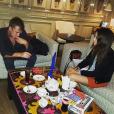 Tom Felton et sa chérie Jade Olivia / photo postée sur le compte Instagram de l'acteur au mois d'août 2015.