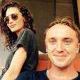Tom Felton et sa chérie Jade Olivia à Maui / photo postée sur le compte Instagram de l'acteur au mois de juillet 2015.
