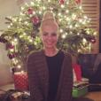 Katrina Patchett auprès des siens pour Noël. Décembre 2015.