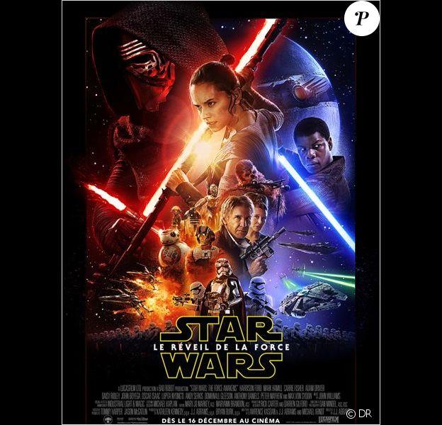 Affiche de Star Wars - Le Réveil de la Force