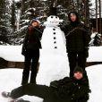 Taylor Swift a passé les fêtes de Noël avec Calvin Harris et son frère Austin ainsi que toute sa famille dans le Colora. Photo postée sur Instagram à la fin du mois de décembre 2015.