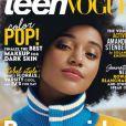 """Amandla Stenberg en couverture de """"Teen Vogue"""", février 2016."""