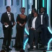 Golden Globes 2016 : Denzel Washington ovationné et ému devant sa famille
