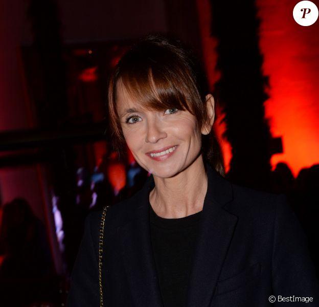 Exclusif - Axelle Laffont lors de la soirée du nouvel an russe à l'hôtel Prince de Galles à Paris le 13 janvier 2016 © Rachid Bellak