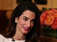Amal Clooney en interview à la télévision : Déterminée et passionnée