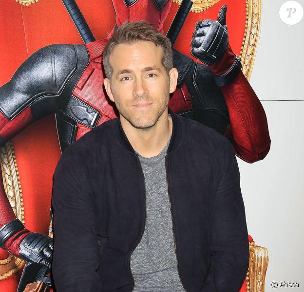 Ryan Reynolds lors d'une projection privée de Deadpool à New York le 18 janvier 2016.
