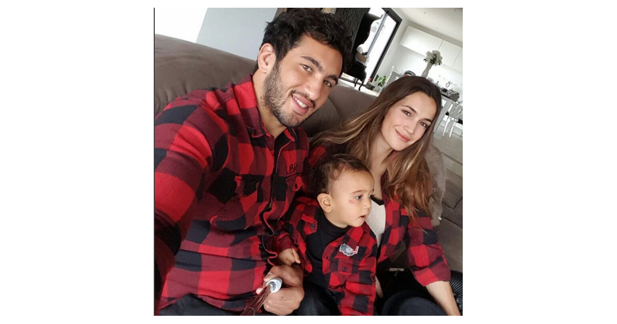 barbara morel maxime mermoz et leur fils aaron photo. Black Bedroom Furniture Sets. Home Design Ideas