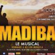 Affiche du spectacle Madiba - le musical