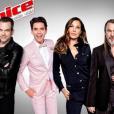 La photo officielle des quatre coachs de The Voice 5