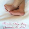 La petite Florence May King est née le 15 janvier 2016. Ses parents Candice Accola et Joe King sont sur un petit nuage.