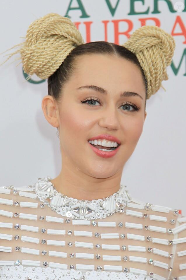 Miley Cyrus à New York le 2 décembre 2015.