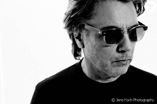 "Jean-Michel Jarre - portrait promotionnel pour la sortie de l'album ""Electronica 1: The Time Machine"" en octobre 2015."