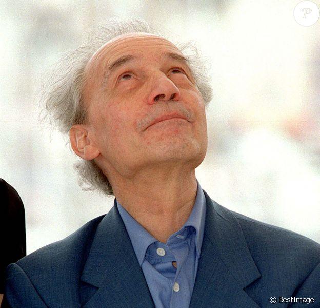 Jacques Rivette lors du Festival de Cannes en 2001