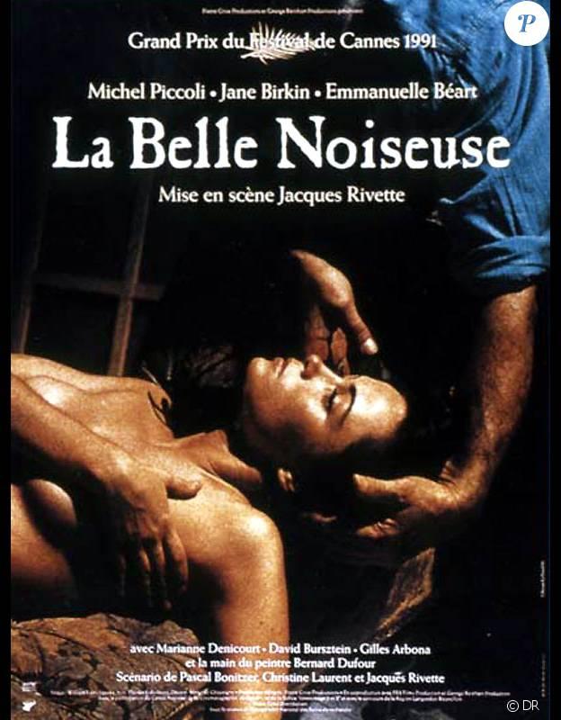 Affiche du film La Belle Noiseuse de Jacques Rivette