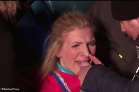 Rebecca Adlington : La souffrance de la championne, victime d'une terrible chute