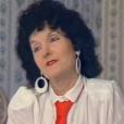 """La mère de Béatrice Dalle - """"Le Divan"""" présentée par Marc-Olivier Fogiel, le 2 février 2016 sur France 3."""