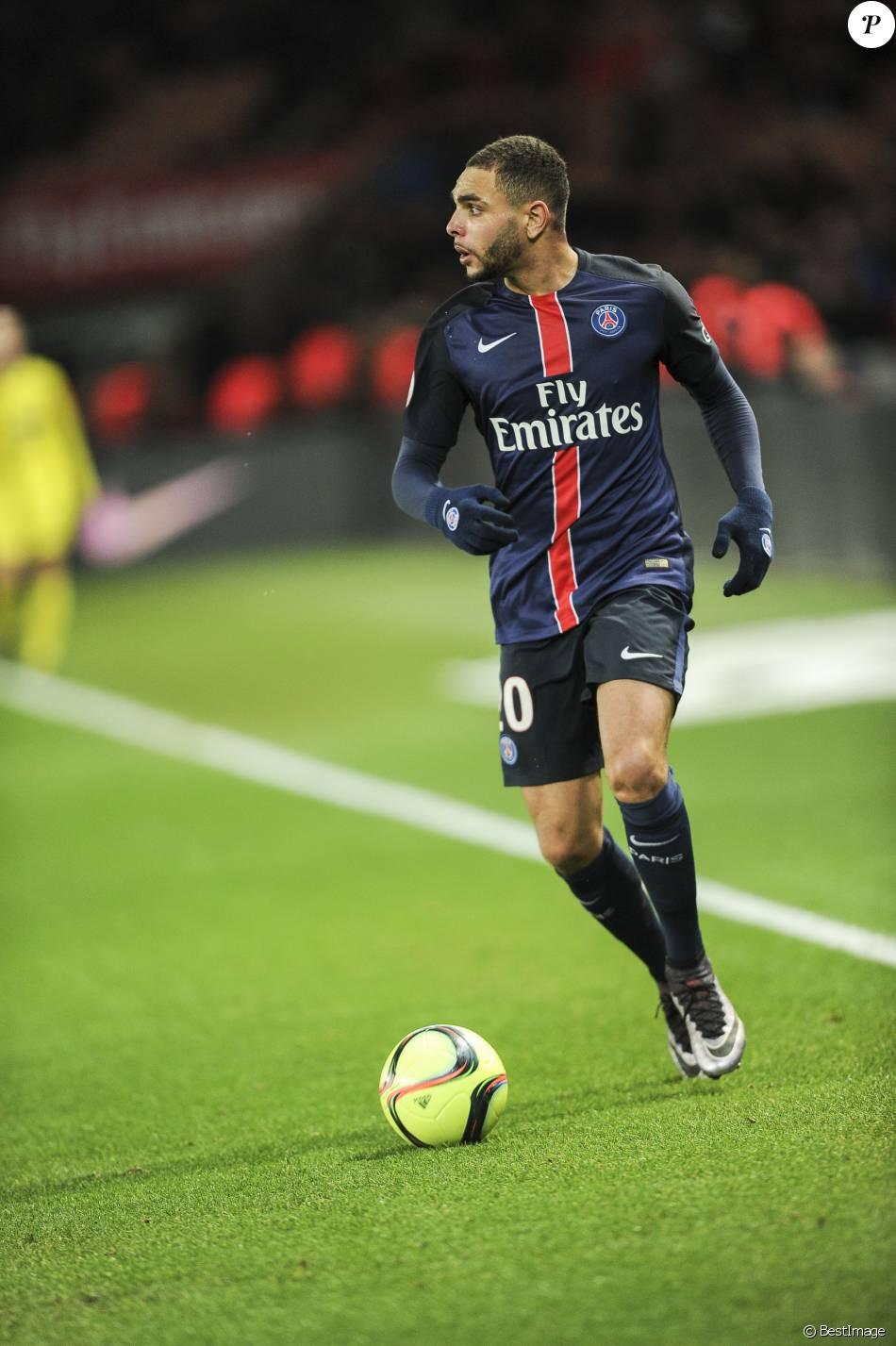 Layvin kurzawa match psg lorient au parc des princes for Lorient match