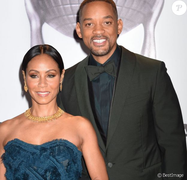 "Will Smith et sa femme Jada Pinkett Smith lors des 47e ""NAACP Image Awards"" à Pasadena le 5 février 2016."