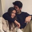 Fernando Verdasco et Ana Boyer - février 2016
