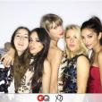 Taylor Swift et ses copines parmi lesquelles Ellie Goulding lors de l'afterparty des Grammy Awards. Photo publiée sur Instagram, le 16 février 2016.