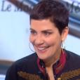 """Cristina Cordula dans """"Le Tube"""" sur Canal+, samedi 6 février 2016."""