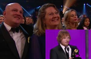 Ed Sheeran aux Grammy Awards : La chaîne se trompe de parents... et s'excuse !