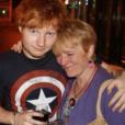 La vraie maman d'Ed Sheeran, Imogen. Photo postée sur Isntagram en 2014 par le chanteur.