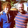 Ed Sheeran et son père, John. Photo postée sur Instagram par le chanteur.