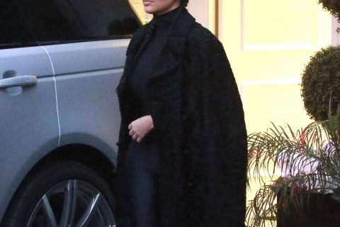 Kim Kardashian : Elle manque de croiser son petit frère et Blac Chyna
