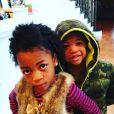 Ne-Yo a publié une photo de ses enfants, nés de sa précédente relation avec Monyetta Shaw, sur sa page Instagram au mois de février 2016.
