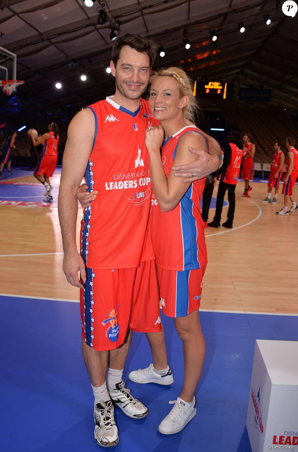 Elodie gossuin basketteuse au top avec son mari bertrand et ses enfants purepeople - Elodie gossuin et ses enfants ...
