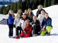Famille royale des Pays-Bas : Moral au beau fixe sur les pistes de Lech