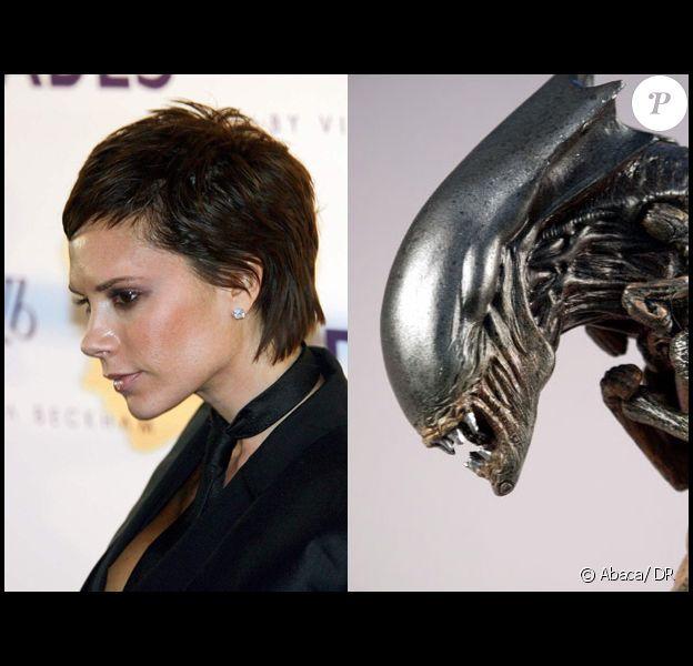 Victoria Beckham et son cousin, Alien