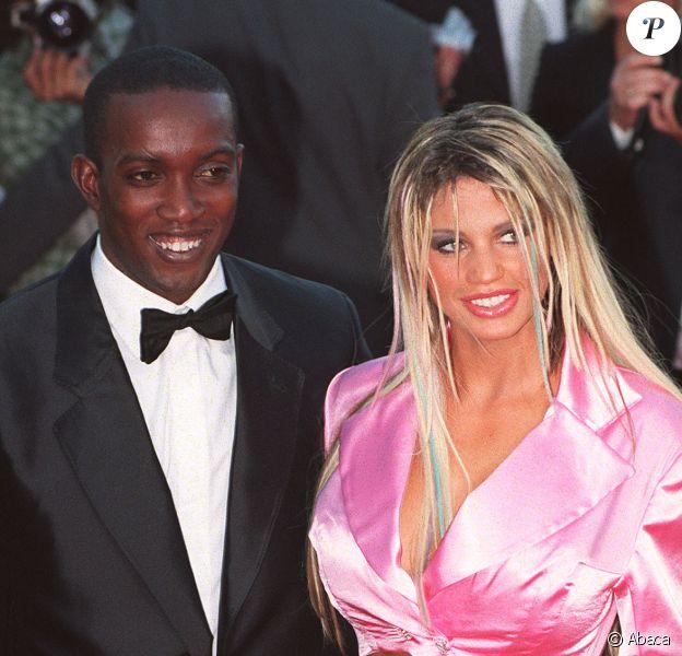 British footballer Dwight Yorke et Katie Price aux Laureus Sports Awards au Monte-Carlo Beach Club de Monaco, le 22 mai 2001