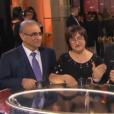 Kheiron entouré de ses parents et de sa femme, aux César 2016.