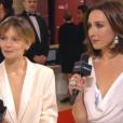 Elsa Zylberstein (bijoux De Grisogono) et Diane Rouxel (bijoux Messika) aux César 2016.