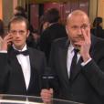Nicolas Duvauchelle et François Damiens moquent Elsa Zylberstein aux César 2016.