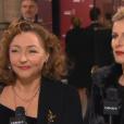 Catherine Frot et Karin Viard aux César 2016.